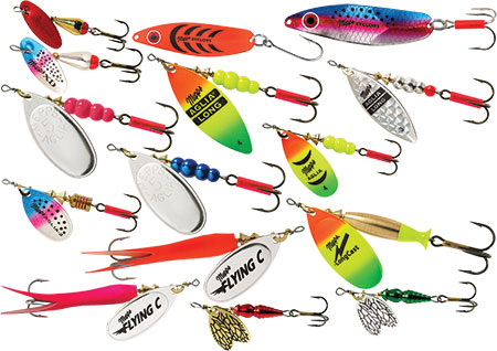 Shop item suggestions go here for Salmon fishing lures